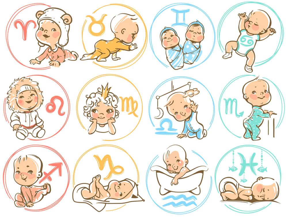 Das Geburtshoroskop Erfahren Sie wie Ihr Baby tickt